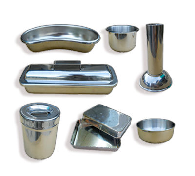 STAINLESS STEEL MEDICAL HOLLOWARES