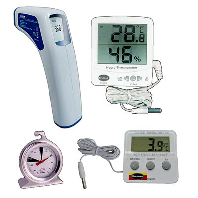 THERMOMETER & TEMPERATURE MEASURING DEVICES